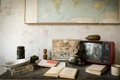 Картинка карта, книга, телевизор