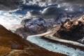 Картинка ice, landscape, Mountains, Alps, cold, Schweiz