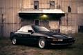 Картинка черный, бмв, BMW, light, grass, black, 850