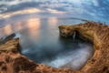 Картинка Rock, Pacific Ocean, San Diego, Sunset Cliffs Cove