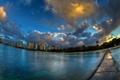 Картинка пейзаж, город, Waikiki Cloud