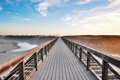 Картинка пейзаж, мост, цвет