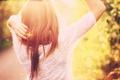 Картинка волосы, рыжая, девушка