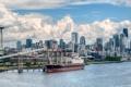 Картинка здания, судно, Seattle, сиэтл