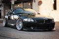 Картинка BMW, black, BBS, stance, Z4M