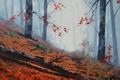 Картинка АРТ, РИСУНОК, ARTSAUS, FOREST FLOOR