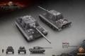 Картинка Германия, танк, танки, рендер, WoT, World of Tanks, Jagdtiger