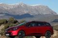 Картинка авто, красный, Renault, рено, Clio Estate
