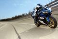 Картинка скорость, мотоциклист, Yamaha, трек, ямаха, YZF-R1