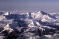 Картинка горы, снег, mountain range, Caucasus, Mount Ushba, вершины