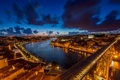 Картинка Portugal, город, река, Porto, рассвет