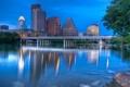Картинка Остин, twilight, Austin, usa, Texas, Техас