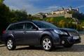 Картинка фон, Subaru, передок, универсал, Outback, 2.5i, Субару.Аутбек