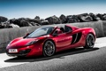 Картинка красный, McLaren, red, Spyder, MP4-12C, спайдер
