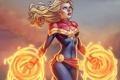 Картинка Captain Marvel, Carol Danvers, faire, Ms. Marvel