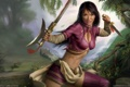 Картинка девушка, воин, Action, красотка, BioWare, 2007, RPG