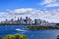 Картинка пейзаж, река, набережная, здания, Австралия, катера, лодки