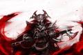 Картинка шлем, red, топор, armor