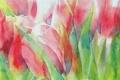 Картинка цветы, картина, тюльпаны