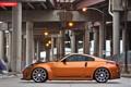 Картинка оранжевый, мост, тюнинг, Nissan, ниссан, 350Z, orange