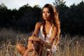 Картинка девушка, природа, Federica