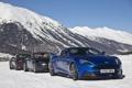 Картинка Aston Martin, Roadster, Vantage, supercar, V12, snow, Vanquish