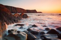 Картинка море, природа, камни, скалы, потоки