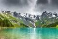 Картинка небо, вода, горы, природа, озеро