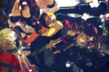 Картинка девушки, гитара, группа, аниме, арт, Chupa Chups, nanathy