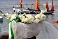 Картинка цветы, праздник, корзина, лодки, Бразилия, Сальвадор, штат Баия