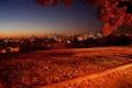 Картинка осень, пейзаж, природа, фото, вечер