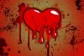 Картинка капли, брызги, фон, сердце, разбитое
