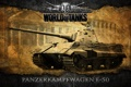 Картинка Германия, танки, WoT, Средний танк, World of Tanks, E-50