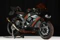 Картинка черный, мотоцикл, спортбайк, фон.