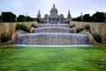 Картинка вода, Испания, Барселона, Каталония, каскады, национальный дворец, музей искусства