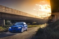 Картинка бмв, BMW, синяя, blue, Sport, E90, 3 серия