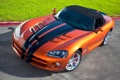 Картинка Авто, капот, Оранжевый, Dodge, viper, SRT, Спорткар