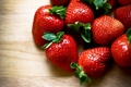 Картинка клубника, еда, ягоды
