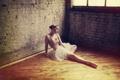 Картинка девушка, фон, балерина