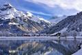 Картинка пейзаж, горы, озеро, Switzerland, Engelberg, Canton of Obwalden
