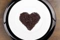 Картинка тарелка, любовь, heart, chocolate, сердце, шоколад, love