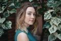 Картинка листья, Saoirse Ronan, Сирша Ронан, актриса, взгляд