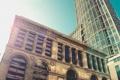 Картинка город, здание, небоскребы, Чикаго, Иллиноис