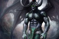 Картинка эльф, WoW, World of Warcraft, warcraft, art, night elf, demon hunter