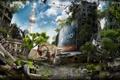 Картинка апокалипсис, разрушения, Динозавр