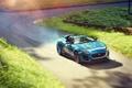 Картинка Concept, авто, передок, красивый, Jaguar, суперкар, дорога