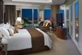 Картинка дизайн, стиль, комната, интерьер, квартира, мегаполис, спальня