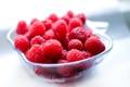 Картинка лето, макро, ягоды, малина, еда