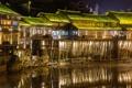 Картинка China, Night, Phoenix Ancient Town, Fenghuang