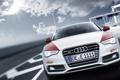 Картинка Ауди, Audi, небо, солнце, тюнинг, передок, купе